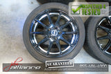 "JDM Manaray EuroSpeed 17x7 5x100 Wheels Rims 17"" Inch"
