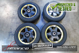 "JDM Bridgestone V'Racing 16x7 4x100 / 114.3 Wheels Rims 16"" Inch - JDM Alliance LLC"