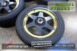 "JDM Bridgestone V'Racing 16x7 4x100 / 114.3 Wheels Rims 16"" Inch"