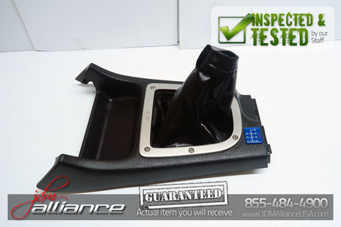 JDM Subaru Impreza WRX STi GDB OEM Shift Boot Trimming Console EJ207 - JDM Alliance LLC