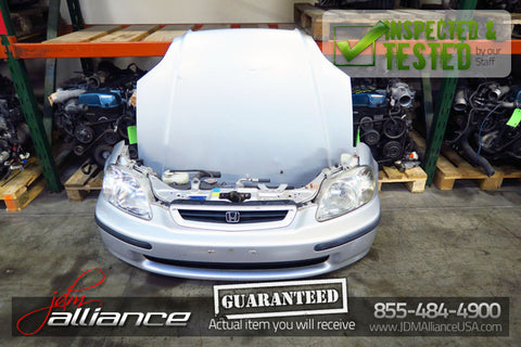 JDM 96-98 Honda Civic EK3 Front Nose Cut Bumper Headlights EK4 EK9 - JDM Alliance LLC