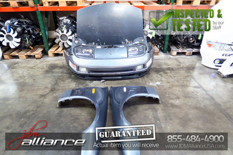 JDM Nissan 300ZX Fairlady Front End Nose Cut Headlight Bumper Twin Turbo GCZ32 - JDM Alliance LLC