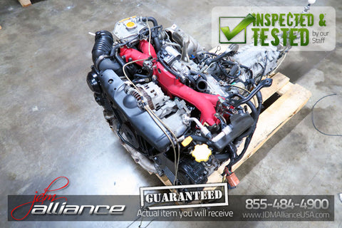 JDM 02-03 Subaru WRX STi EJ207 2.0L AVCS V7 Turbo Engine Only