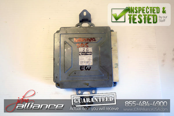 JDM Subaru Forester SG5 AWD A/T Engine ECU 2G 22611AG570 Computer - JDM Alliance LLC