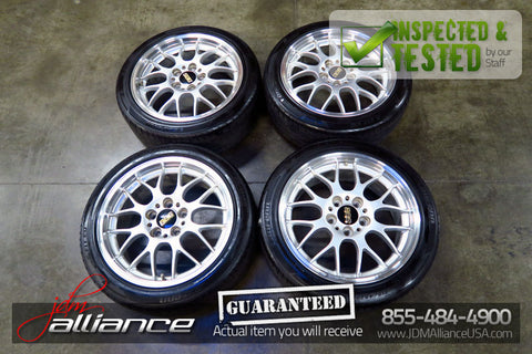 JDM BBS RG715 17x7.5 Forged Wheels 5x114.3 Rims 45 Offset