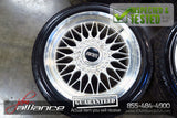 BBS RG059 17x7.5 Mesh Wheels 5x114.3 Rims 30 Offset