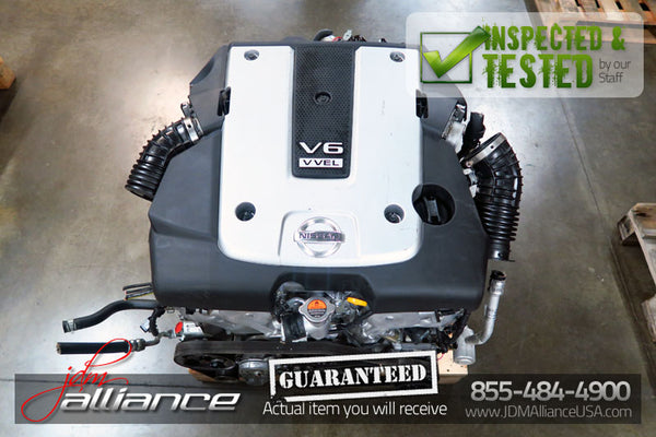 JDM 09-13 Nissan 370Z VQ37HR VVEL 3.7L V6 Engine Only Infiniti G37 VQ37 Motor - JDM Alliance LLC