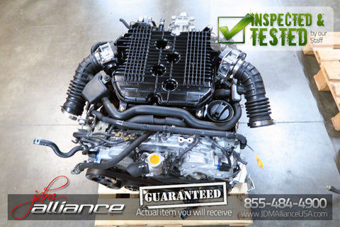 JDM 10-12 Nissan VQ25HR 2.5L V6 Engine Only Infiniti G25 Motor - JDM Alliance LLC