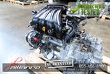 JDM 07-12 Nissan Versa MR18DE 1.8L DOHC Engine MR18 Motor Only - JDM Alliance LLC