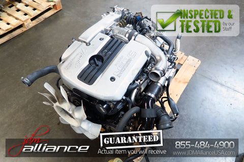 JDM Nissan Skyline GTS R34 RB25DET 2.5L NEO Turbo Engine AWD Motor RB25 - JDM Alliance LLC