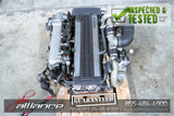JDM Toyota 1JZ-GTE Twin Turbo 2.5L DOHC *Front Sump* Engine 1JZ Non VVTi - JDM Alliance LLC