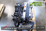 JDM 02-06 Honda CR-V K24A 2.4L DOHC i-VTEC Engine ONLY CRV - JDM Alliance LLC