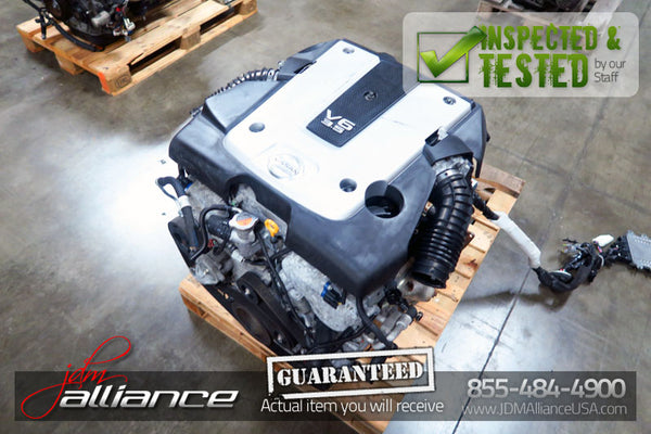 JDM 07-08 Nissan 350Z VQ35HR REV UP 3.5L V6 Engine Only Infiniti G35 VQ35 Motor