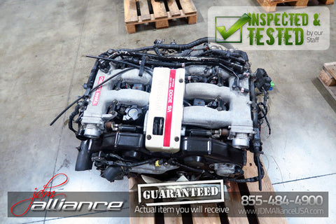 JDM 90-95 Nissan 300ZX Z32 VG30DETT 3.0L DOHC Twin Turbo Engine Only VG30 - JDM Alliance LLC