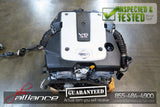 JDM 07-08 Nissan 350Z VQ35HR *Rev Up* 3.5L V6 Engine Only Infiniti G35 VQ35 Motor - JDM Alliance LLC