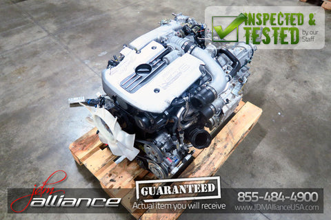 JDM Nissan Skyline R34 NEO RB25DET 2.5L DOHC Turbo Engine - JDM Alliance LLC