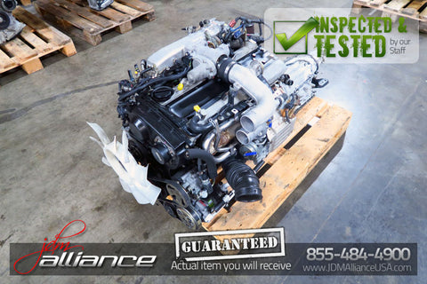 JDM Nissan RB25DET 2.5L DOHC NEO Turbo Engine Auto Transmission RB25 Skyline R34 - JDM Alliance LLC