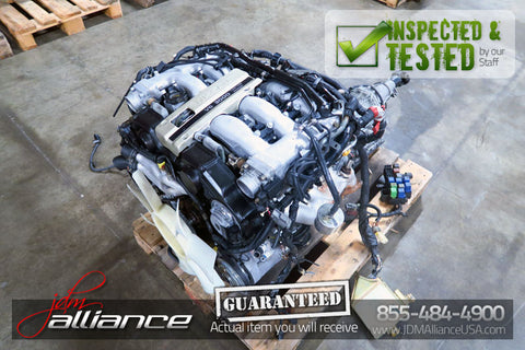 JDM Nissan 300ZX Z32 VG30DE 3.0L DOHC *Non-Turbo* Engine & Automatic Transmission - JDM Alliance LLC