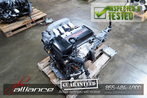 JDM Toyota 3SGE 2.0L DOHC Dual VVTi Beams Engine Altezza 6 Spd Transmission - JDM Alliance LLC