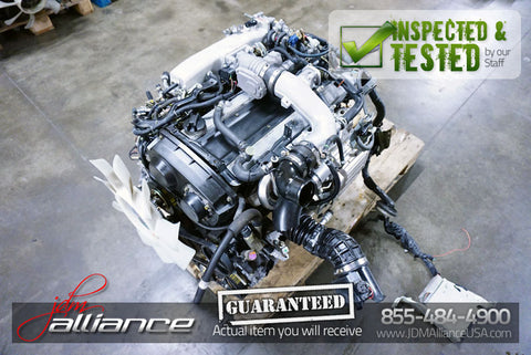 JDM Nissan Stagea R34 NEO RB25DET 2.5L Turbo AWD Engine RB25 4X4 Motor - JDM Alliance LLC
