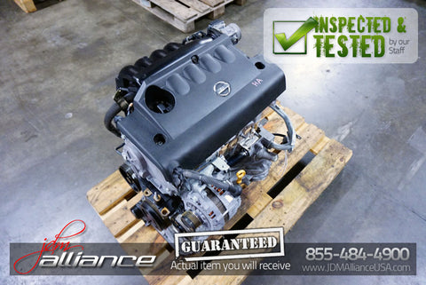 JDM 02-06 Nissan Altima Sentra QR25DE 2.5L DOHC Engine Only QR25 - JDM Alliance LLC