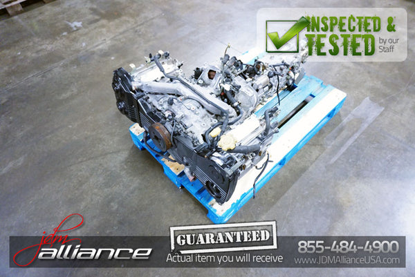 JDM 02-05 Subaru Impreza WRX EJ205 2.0L Quad Cam Turbo Engine EJ20 Non-AVCS - JDM Alliance LLC