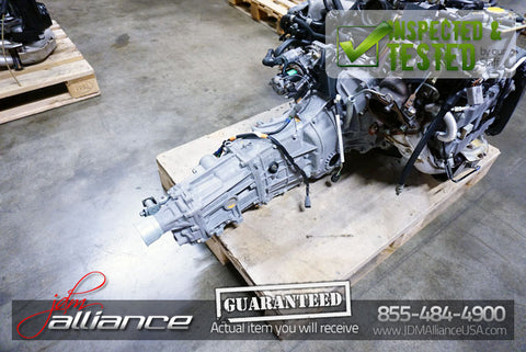 JDM Subaru EJ20 Turbo Legacy Impreza WRX 5 Spd AWD Transmission TY754VB5AA 4.44 - JDM Alliance LLC