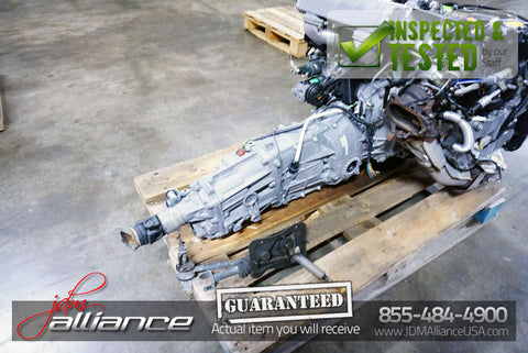 JDM Subaru EJ20 Turbo Legacy Impreza WRX 5 Spd AWD Transmission TY754VB6AA 4.44 - JDM Alliance LLC