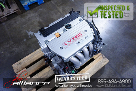 Details about  JDM 04-08 Honda K24A 2.4L DOHC i-VTEC RBB 200HP Engine K24A2 Acura TSX