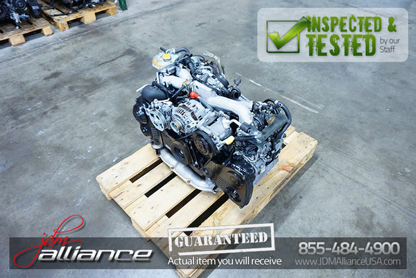 JDM 02-05 Subaru WRX EJ205 2.0L Quad Cam AVCS Turbo Engine Only Impreza Forester
