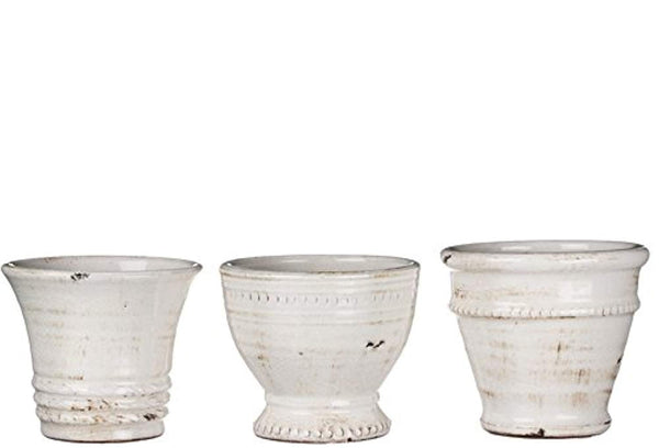 Sullivans Short Ceramic Vase Set of 3
