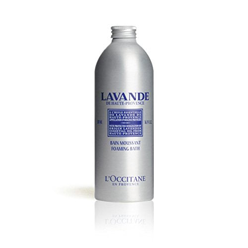 L'Occitane Relaxing & Foaming Lavender Bubble Bath, 16.9 fl. oz.