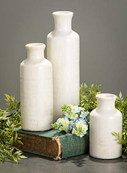 Sullivans Tall Ceramic Vase Set of 3