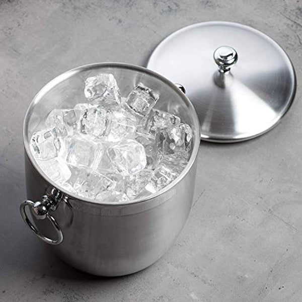 Bellemain Stainless Steel Ice Bucket with Tongs