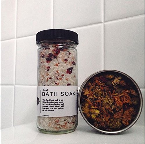Organic Coconut Milk & Floral Rose Bath Salt
