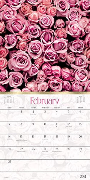 Beautiful Blooms Calendar 2021