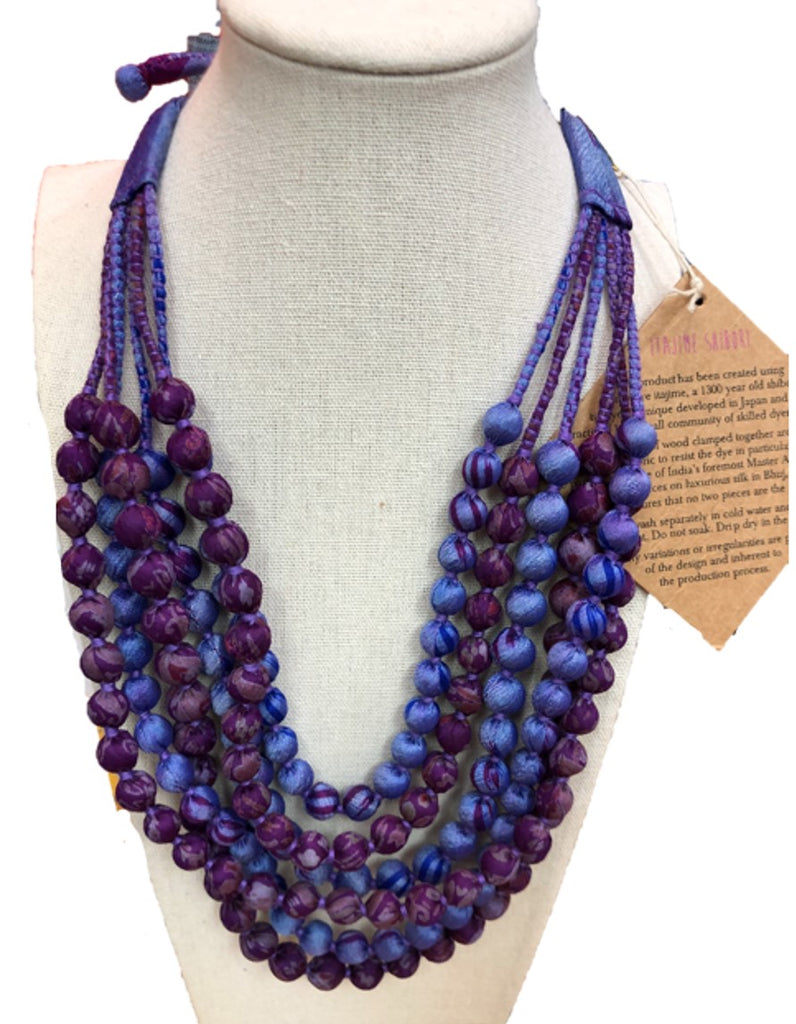 Bead Necklace - Multi colored