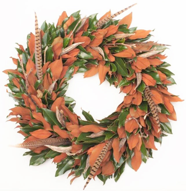Weston Farms Stagg Fall Wreath