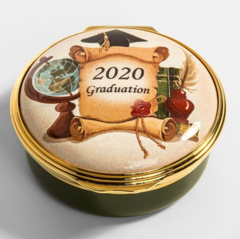 2020 Graduation Enamel Box from Halcyon Days