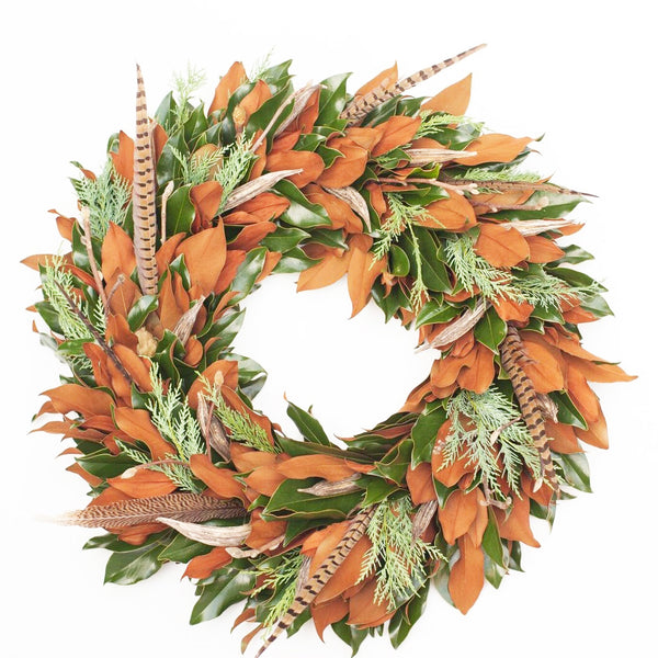 Weston Farms Stagg Winter Wreath