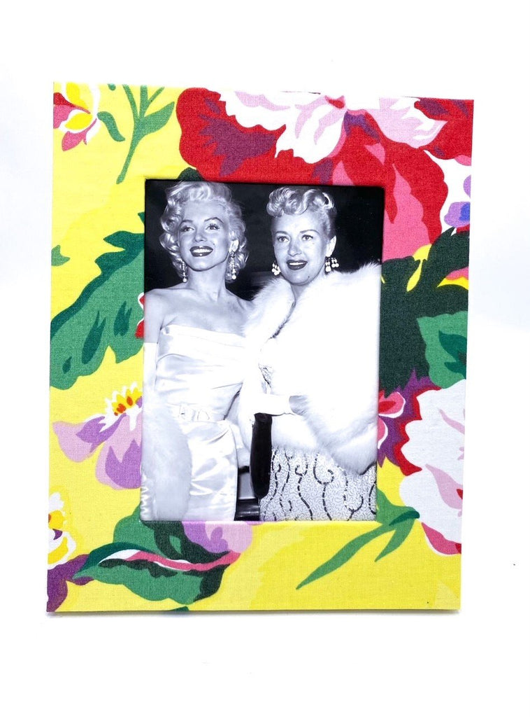 Fabric Photo Frame in Shannongrove Yellow