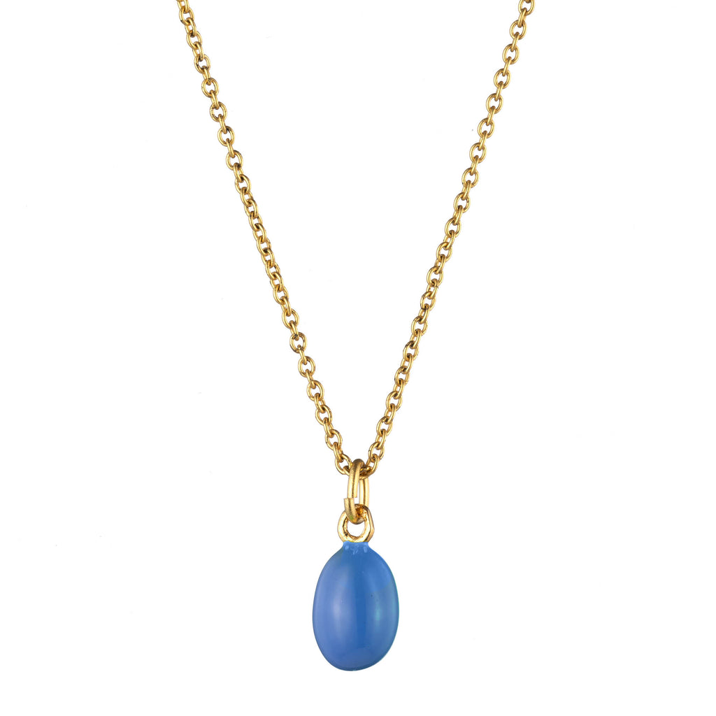 Janet Mavec Egg Pendant Necklace