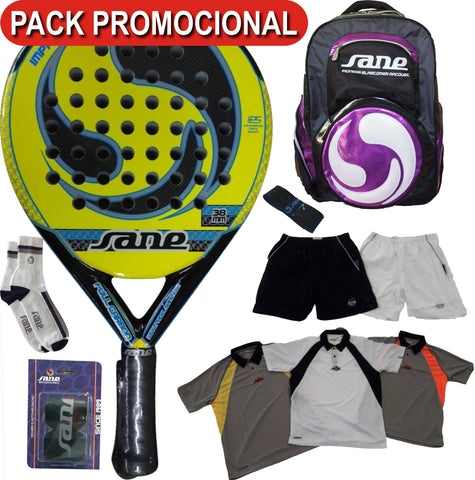 PACK IMPRONTA 4 FULL CARBON POL. + MOCHILA + COMPLEMENTOS