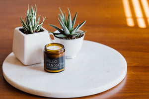 Hello Handsome Handmade Soy Candle by OKcollective Candle Co.