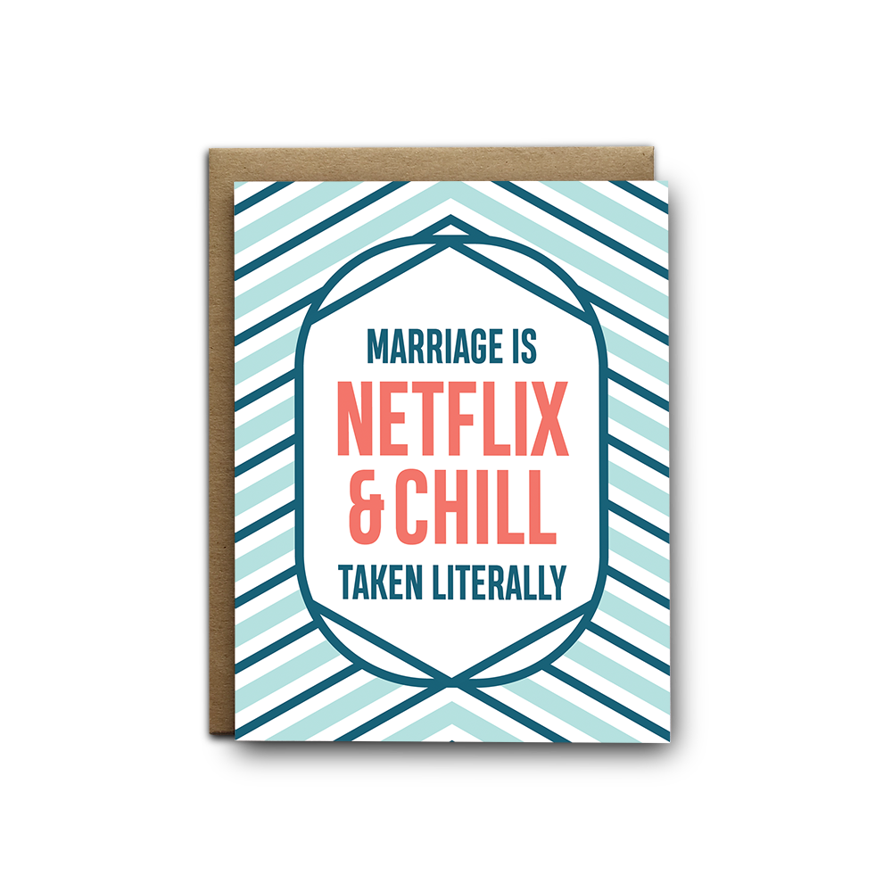 I'll Know It When I See It - Netflix And Chill Greeting Card