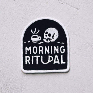 Morning Ritual Coffee Patch - by OKcollective Candle Co. Made in Oklahoma City