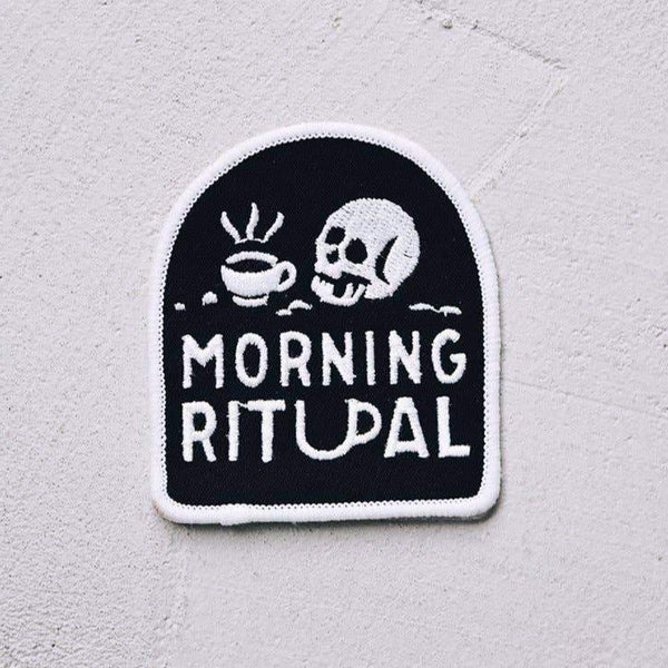 Morning Ritual Coffee Patch - OKcollective Candle Co.