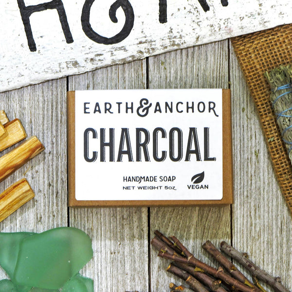 Charcoal Soap - by OKcollective Candle Co. Made in Oklahoma City