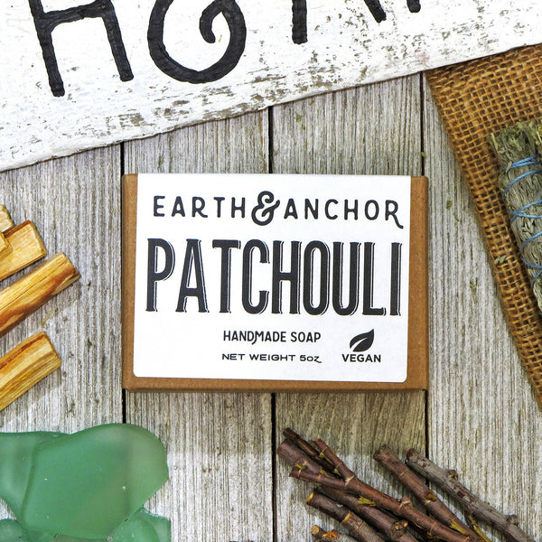 Patchouli Soap - by OKcollective Candle Co. Made in Oklahoma City