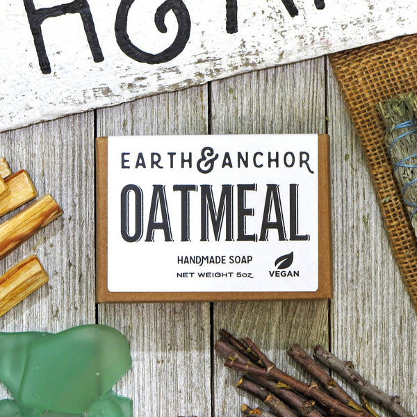 Oatmeal Soap - by OKcollective Candle Co. Made in Oklahoma City